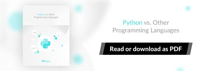 Python Vs Other Programming Languages