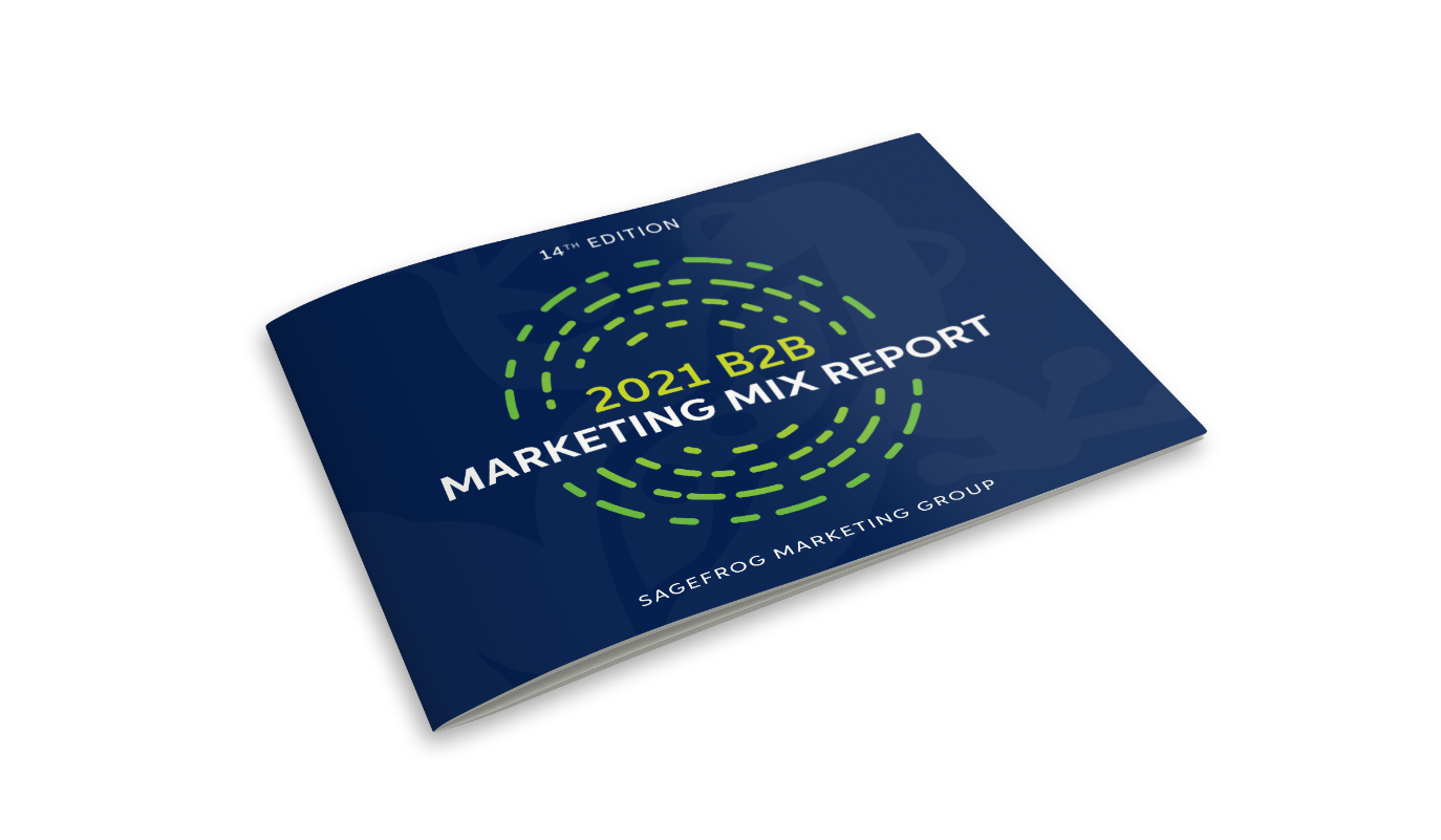 The 2021 B2B Marketing Mix Report