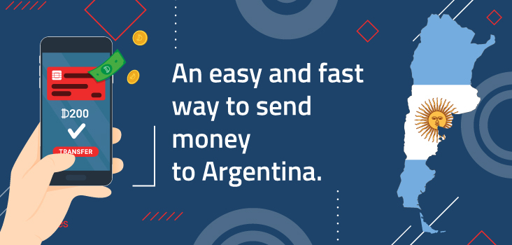 An easy and fast way to send money to Argentina