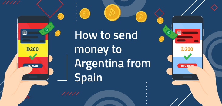 How to send money from Argentina to Spain