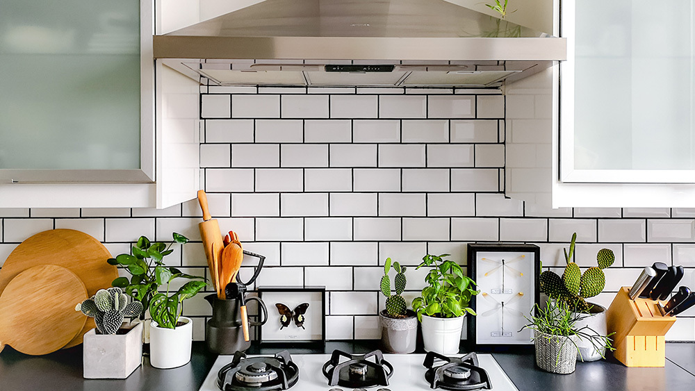 Image of kitchen backsplash