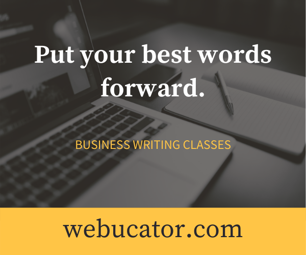 Business Writing Classes from Webucator