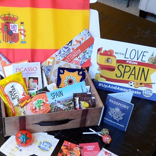 Subscription Suitcase from Around the World
