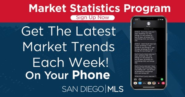 Click to sign-up and get local area stats directly to your phone