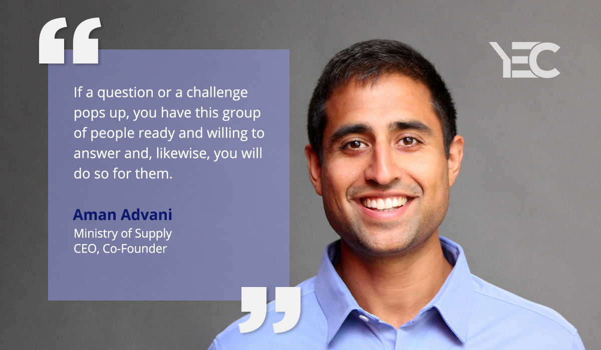 YEC Members Help Aman Advani Build a Business Around New Fashion Technology