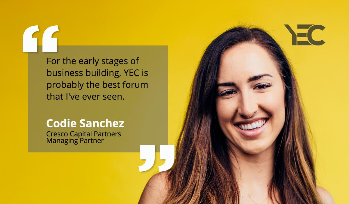 Codie Sanchez Taps Fellow YEC Members for Strategic Advice