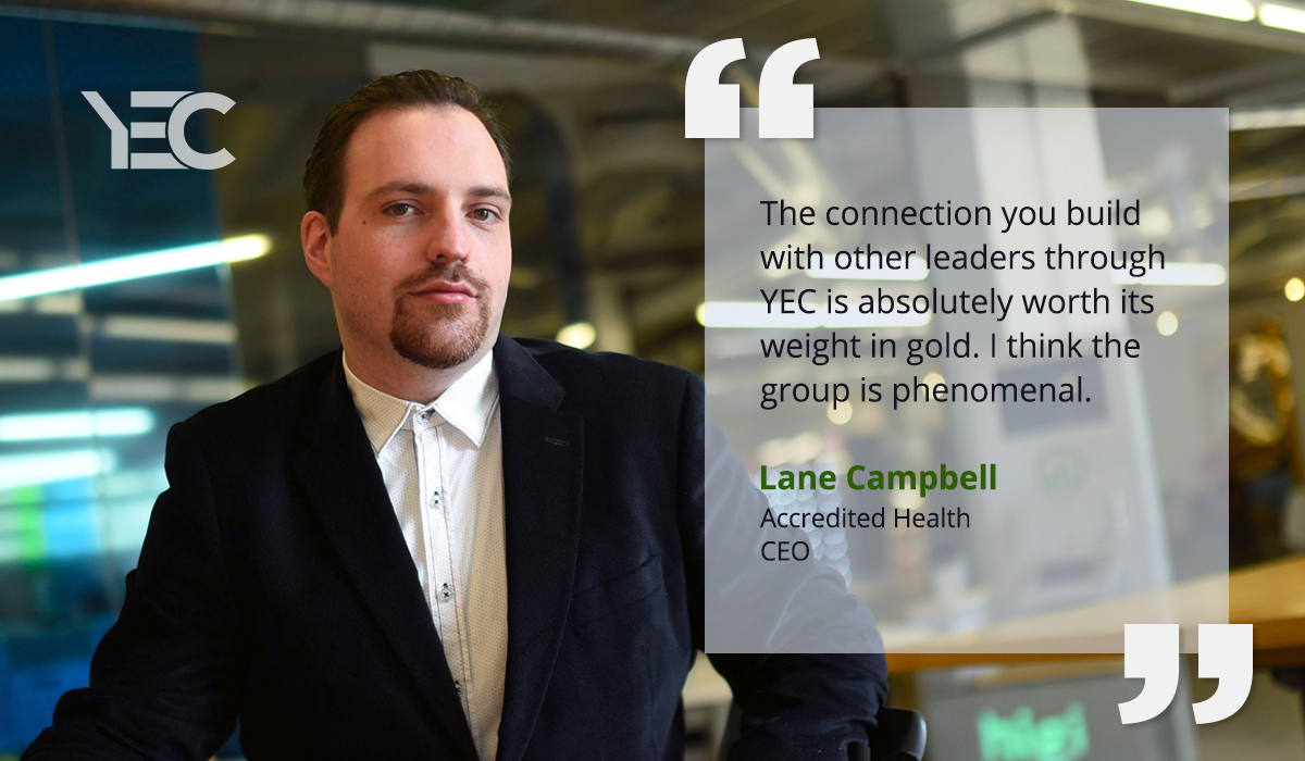 Lane Campbell Finds a Co-founder Through YEC