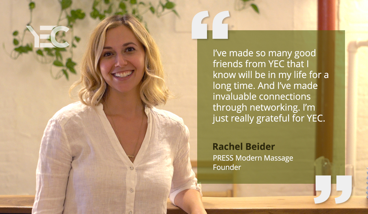 Rachel Beider Says YEC Helped Her Build Her Business, Get Featured in Oprah Magazine, and Publish a Book