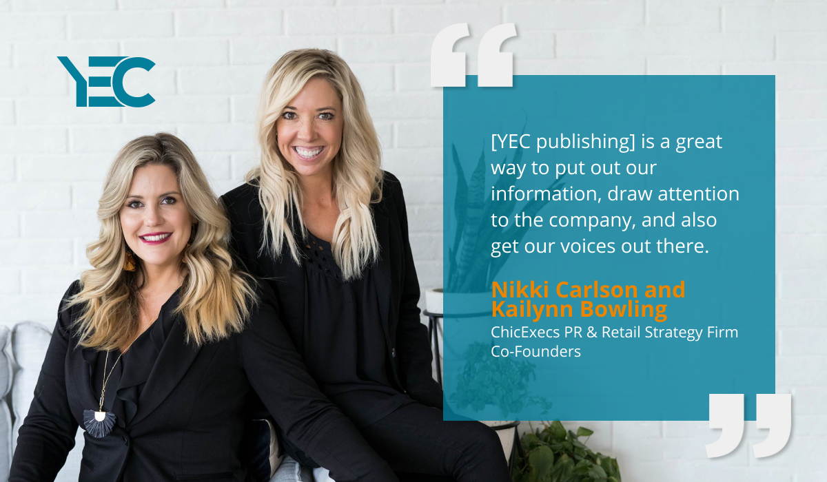 Nikki Carlson and Kailynn Bowling Use YEC Publishing to Amplify Their Voices