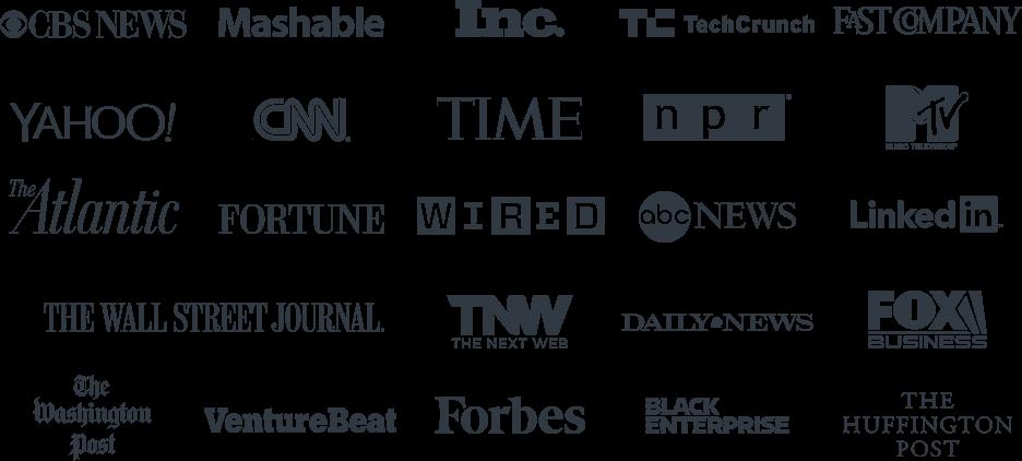 YEC media appearances logos