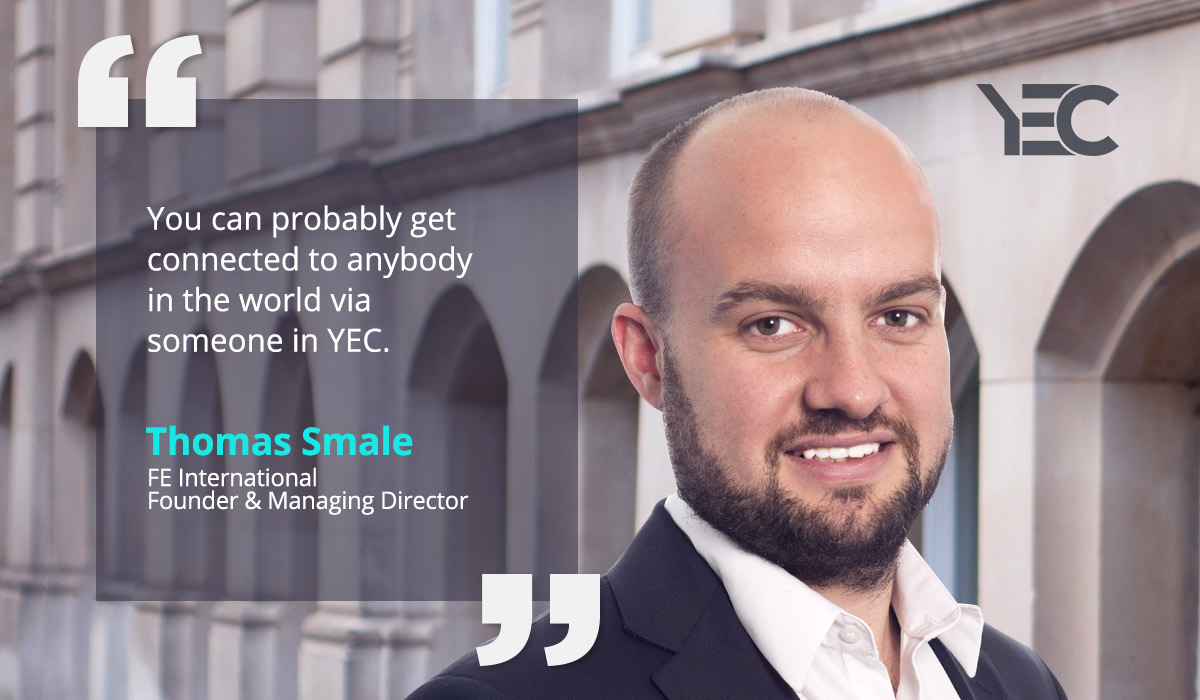 Thomas Smale Values YEC's Goodwill, Connections, and Opportunity to Give Back