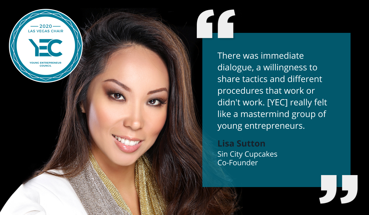 Lisa Song Sutton is YEC Las Vegas Group Chair