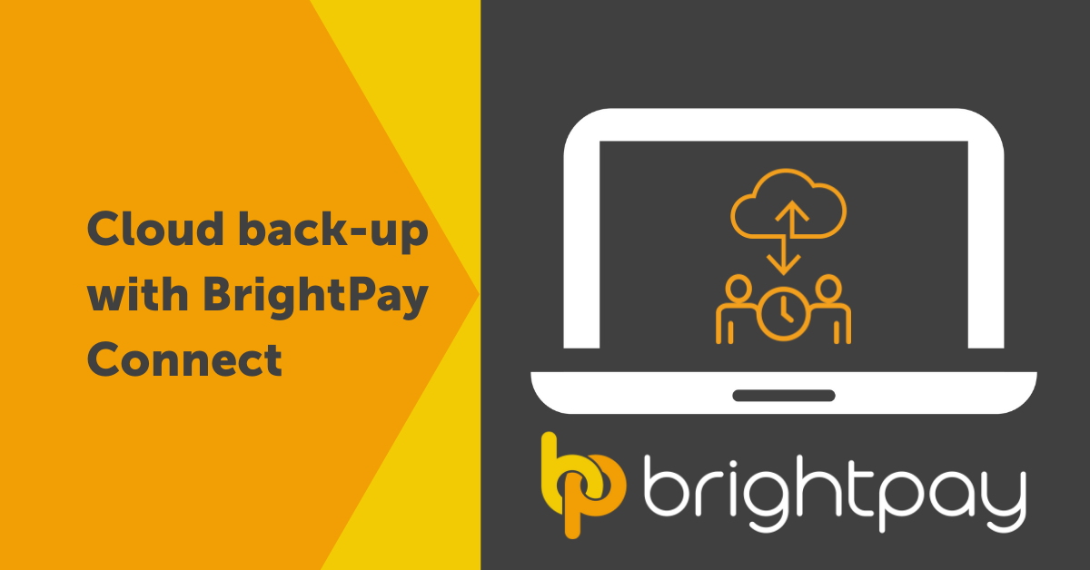 Cloud back-up with BrightPay Connect