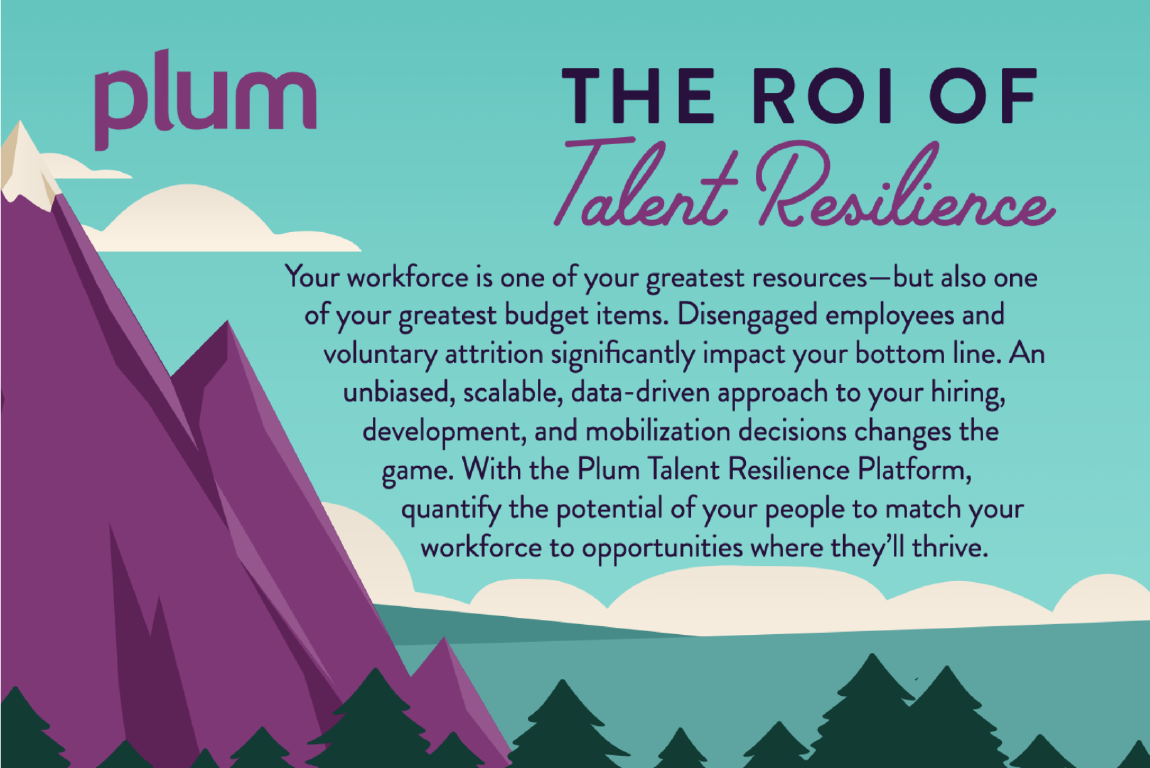 ROI of Talent Resilience Infographic