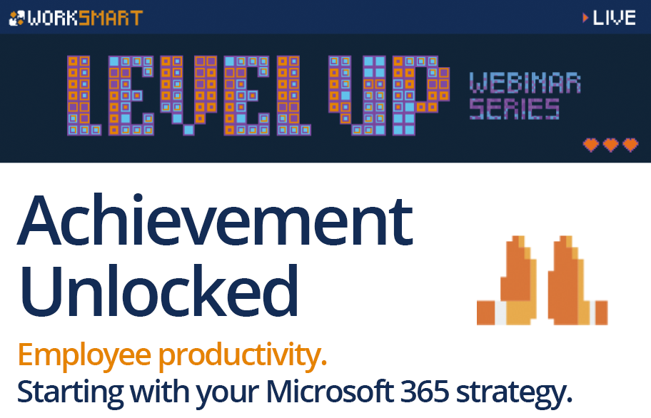 Upcoming webinar for enabling productivity with Microsoft 365