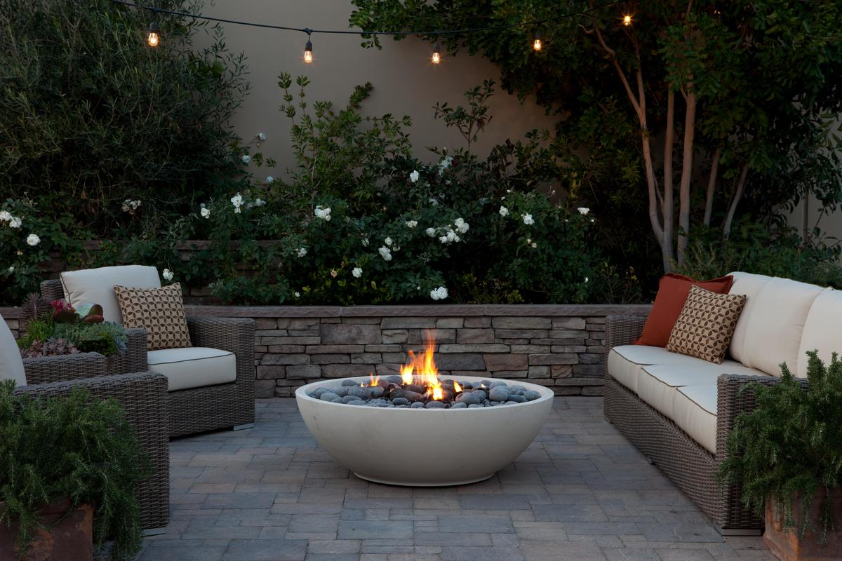 photo of fire bowl
