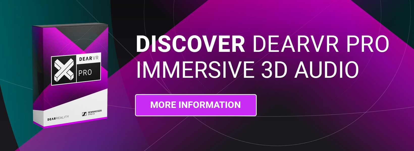 Discover dearVR PRO