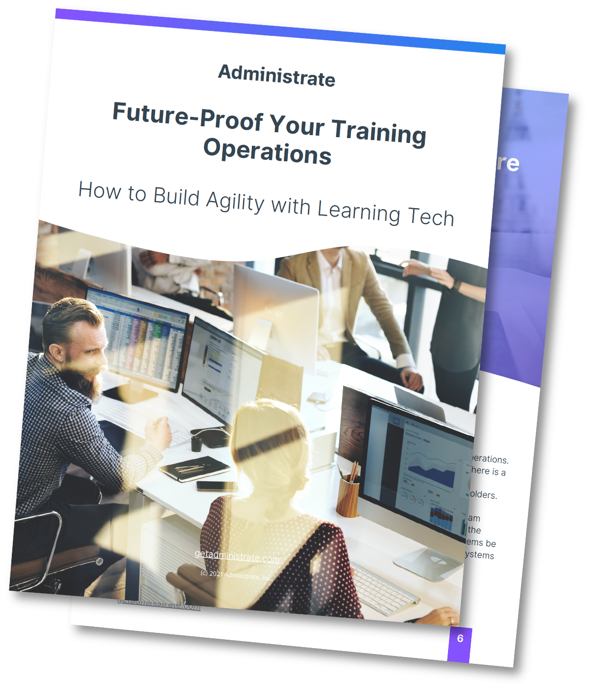 Future-Proof Your Training Operations Mockup (Drop Shadow) v1