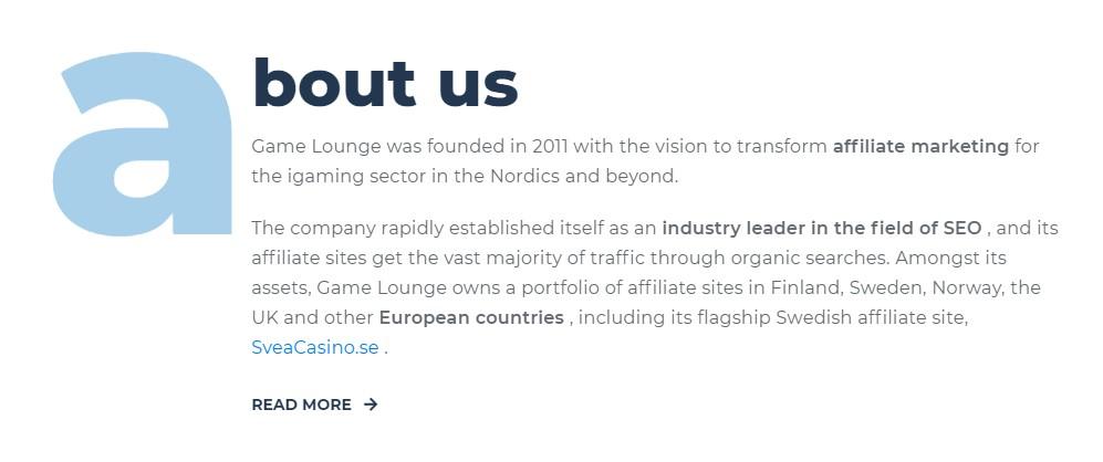 game lounge affiliate grand slam kevin ciantar sigma