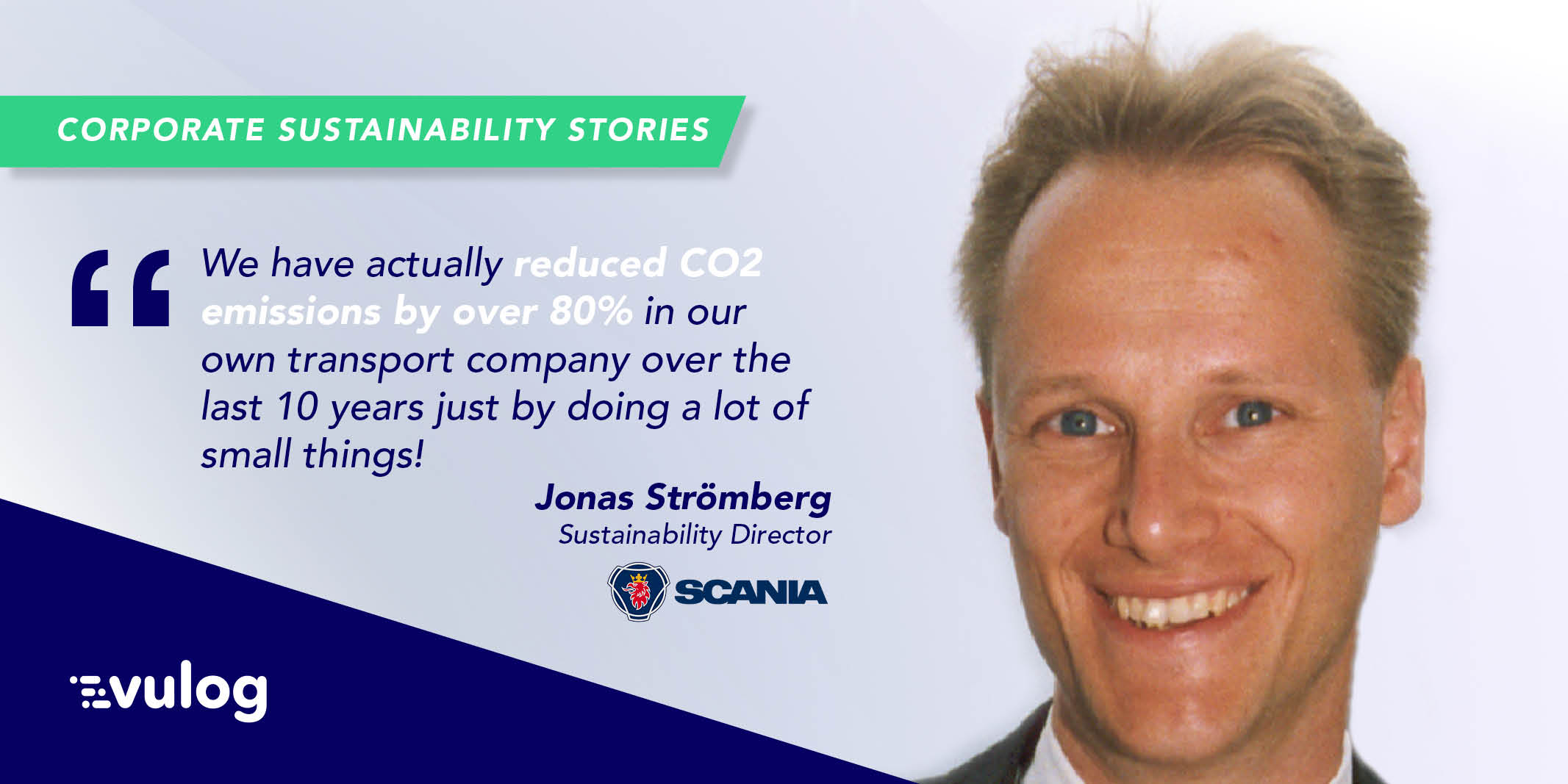 Reducing CO2 Emissions with Jonas Strömberg from Scania [Transportation]