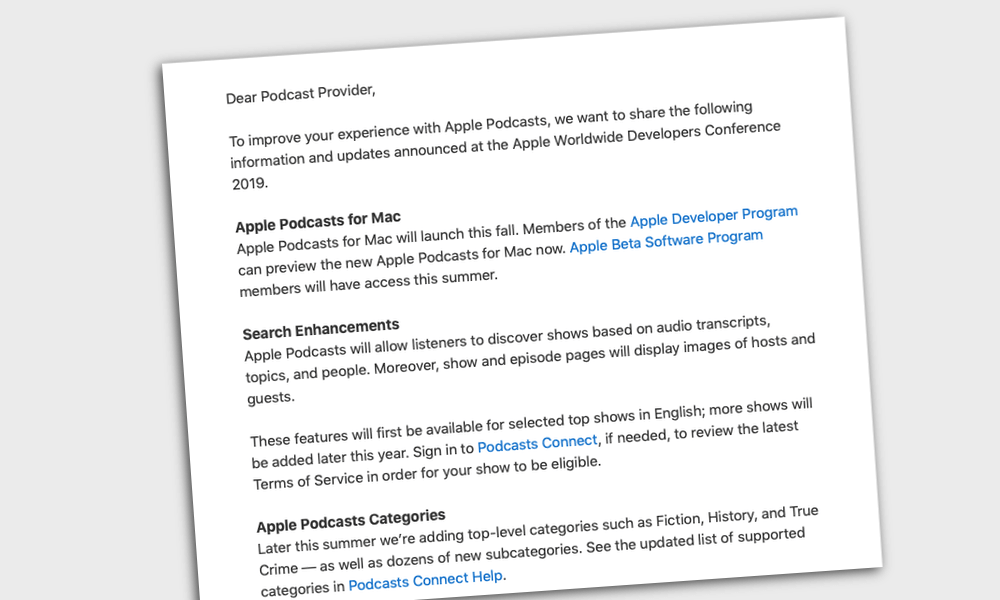 Apple introduces new podcast categories