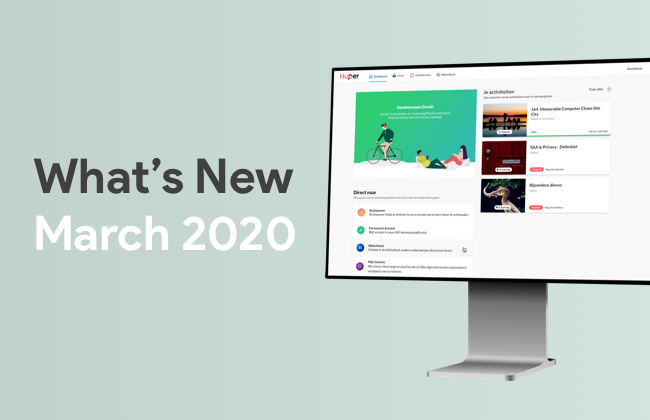 What's New: March 2020