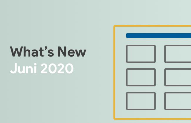 What's New: Juni 2020