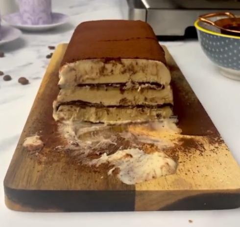 Iced Mocha Cake Recipe