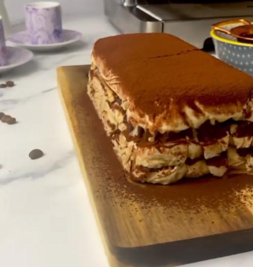 Mocha Ice Cake Product