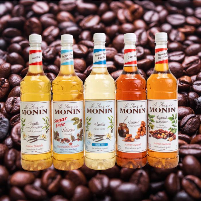 Monin Coffee Syrups