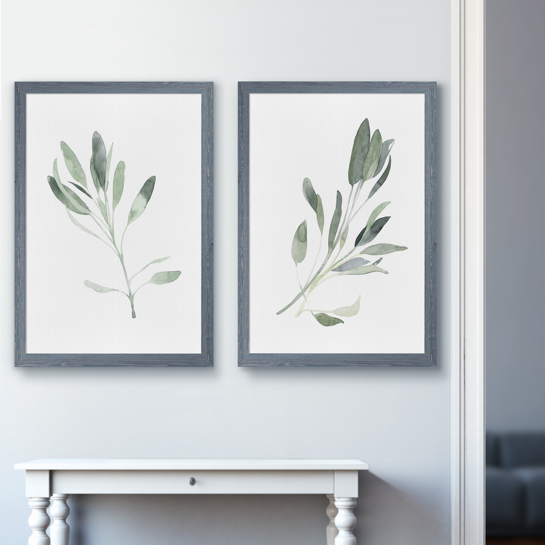 Simple+Sage+I+by+Vincent+Van+Gogh+-+2+Piece+Picture+Frame+Painting+Print+Set